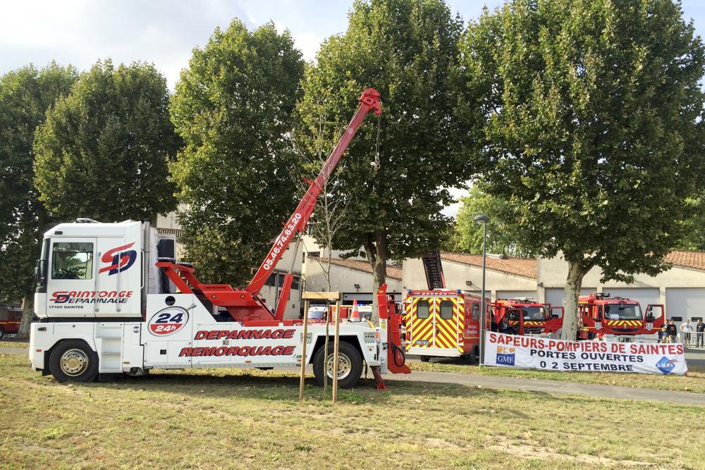 Portes ouvertes Sapeurs pompiers de Saintes